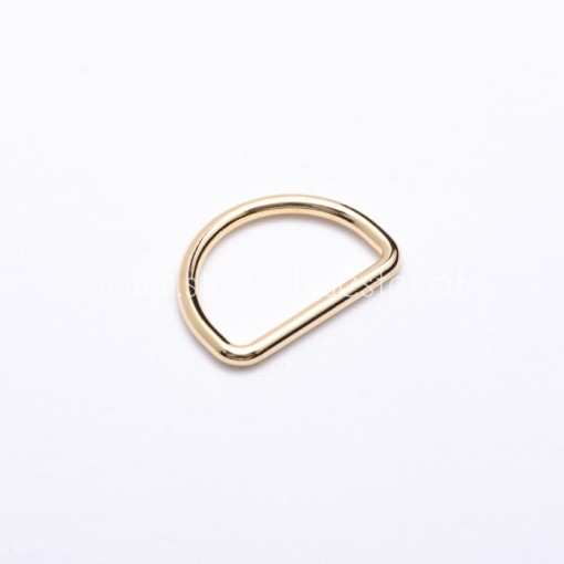 25mm D-Ring gold