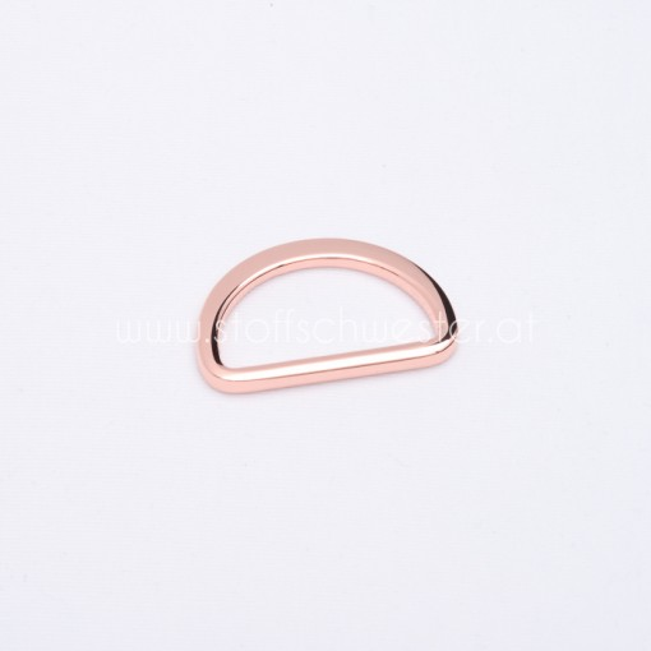 """30mm D-Ring """"Premium"""" kupfer"""