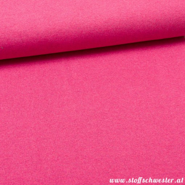 Stoffschwesters Bündchen meliert pink
