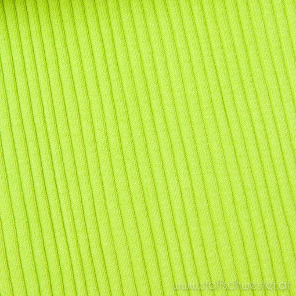 Grobstrick (Bündchen) lime