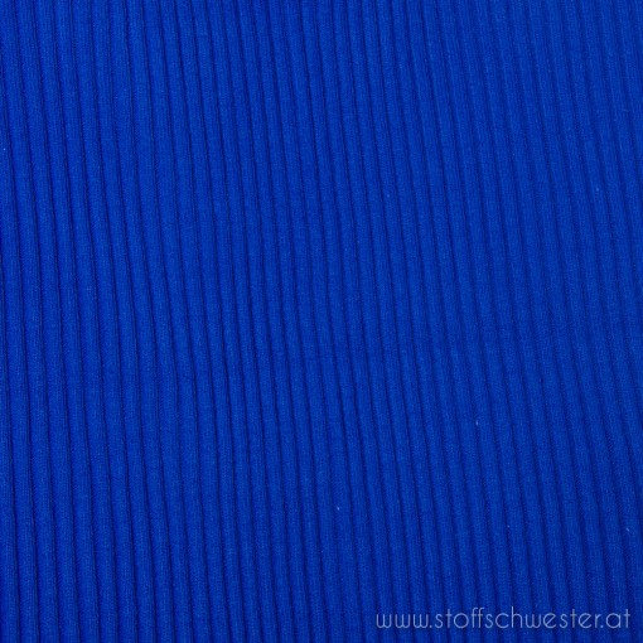 Grobstrick (Bündchen) royalblau