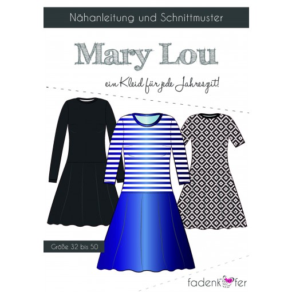 "Papierschnittmuster ""Mary Lou"" Erwachsene"