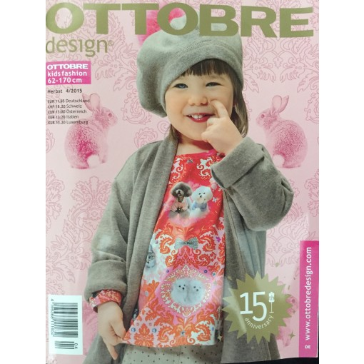 Ottobre Kids Fashion 4/2015