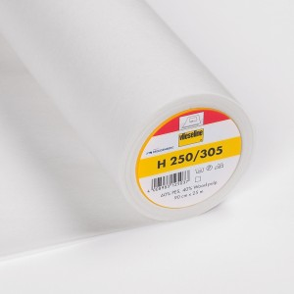 Vlieseline H250 weiß - Bügeleinlage
