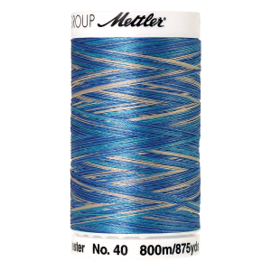 Poly Sheen Multi, 800m - Faded Denim  FNr. 9605