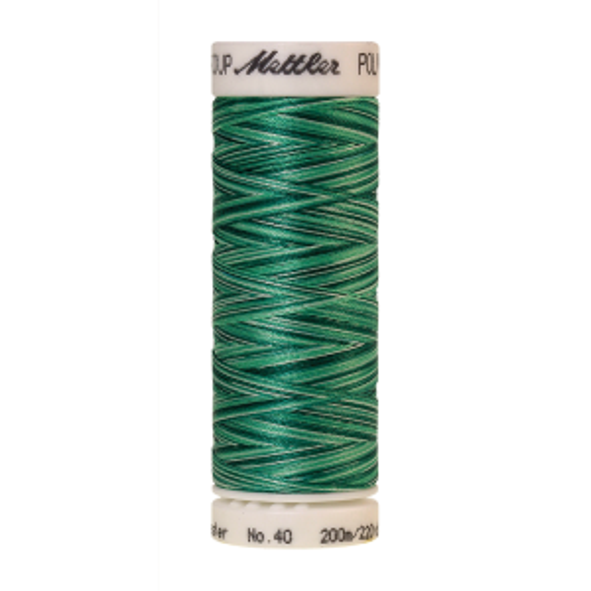 Poly Sheen Multi, 200m - Minty Leaves  FNr. 9931