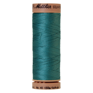 Silk-Finish Cotton 40, 150m - Blue-green Opal FNr. 0611