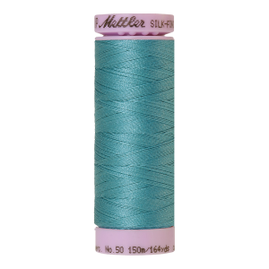 Silk-Finish Cotton 50, 150m - Blue-green Opal FNr. 0611