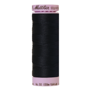 Silk-Finish Cotton 50, 150m - Darkest Blue FNr. 0821