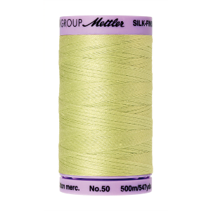 Silk-Finish Cotton 50, 500m - Spring Green FNr. 1343