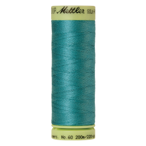 Silk-Finish Cotton 60, 200m - Blue-green Opal FNr. 0611
