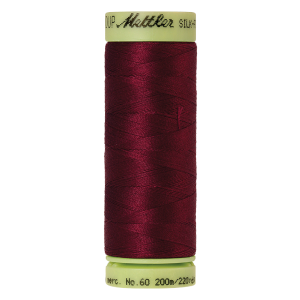 Silk-Finish Cotton 60, 200m - Cranberry FNr. 0918
