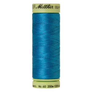 Silk-Finish Cotton 60, 200m - Carribbean Sea FNr. 0999