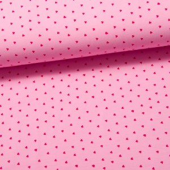 Little Hearts Jersey rosa