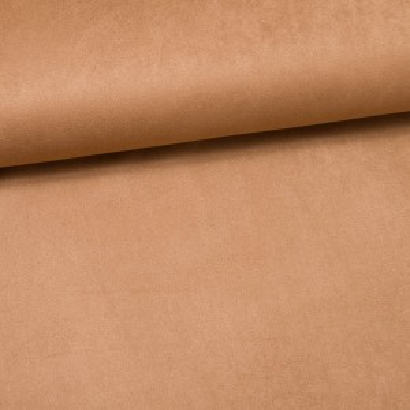 Wildlederimitat elastisch sand