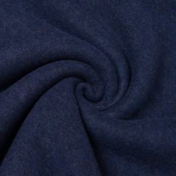 Merinoflausch jeansblau - mulesingfrei