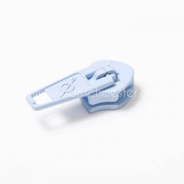 5mm Pin-Lock Schieber himmelblau (3 Stück)