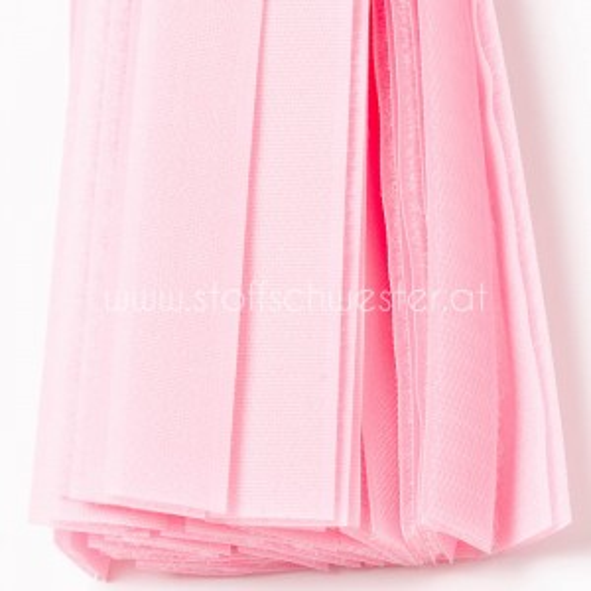 50cm Klettverschluss rosa