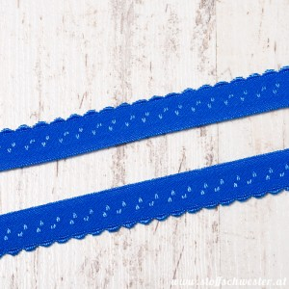 Wäschegummi kobaltblau