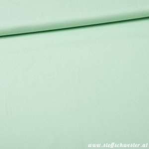 Bio-Unibaumwolle - soft touch - mint