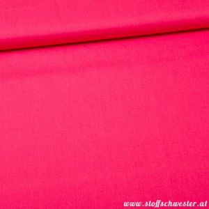 Unibaumwolle - soft touch - pink