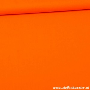 Unibaumwolle - soft touch - orange