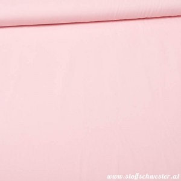 Bio-Unibaumwolle - soft touch - rosa