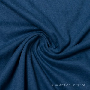 Biojersey brushed indigo