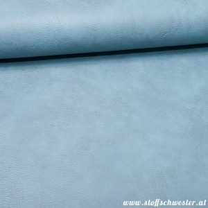 Vintage Kunstleder dusty blue