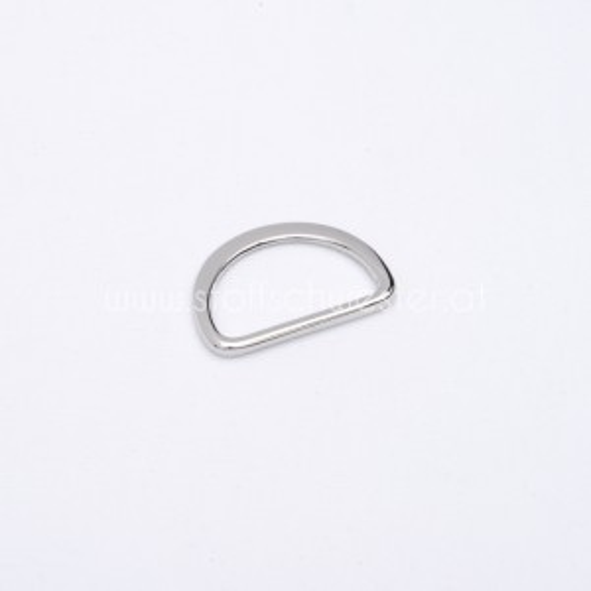 "25mm D-Ring ""Premium"" silber"
