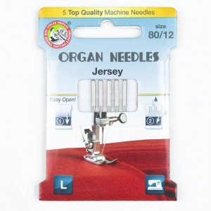Organ Jersey Nadeln 80, 130/705H, Eco Pack