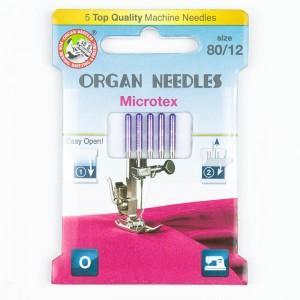 Organ Microtex Nadeln 80, 130/705H, Eco Pack