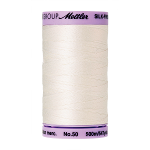 Silk-Finish Cotton 50, 500m - Candlewick FNr. 3000