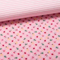 Panel Sue Jersey pink (Rapport 80cm)