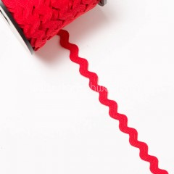 10mm Zackenlitze rot