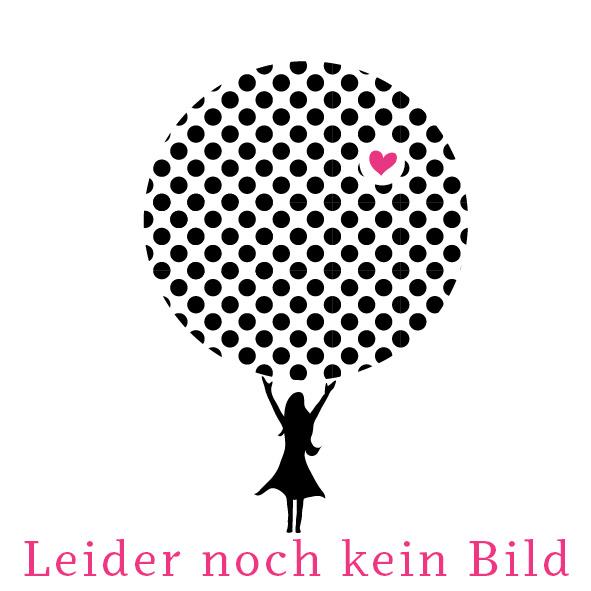 Viskosestoff mit Rosen und Bordürenstickerei - schwarz