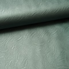 Kunstleder-Jersey dusty green