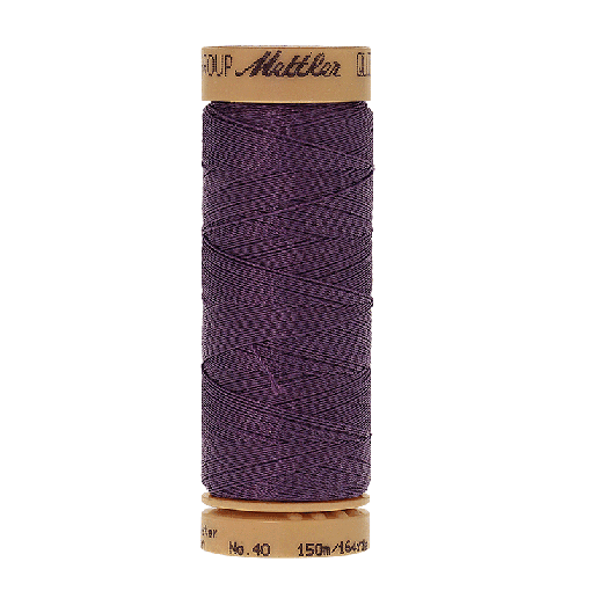Amann Mettler Quilting waxed, 150m - Twilight Handquiltgarn
