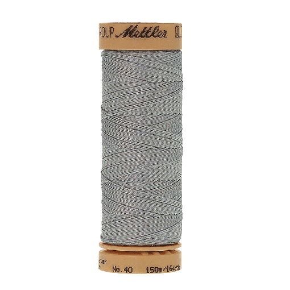 Amann Mettler Quilting waxed, 150m - Winter Frost Handquiltgarn