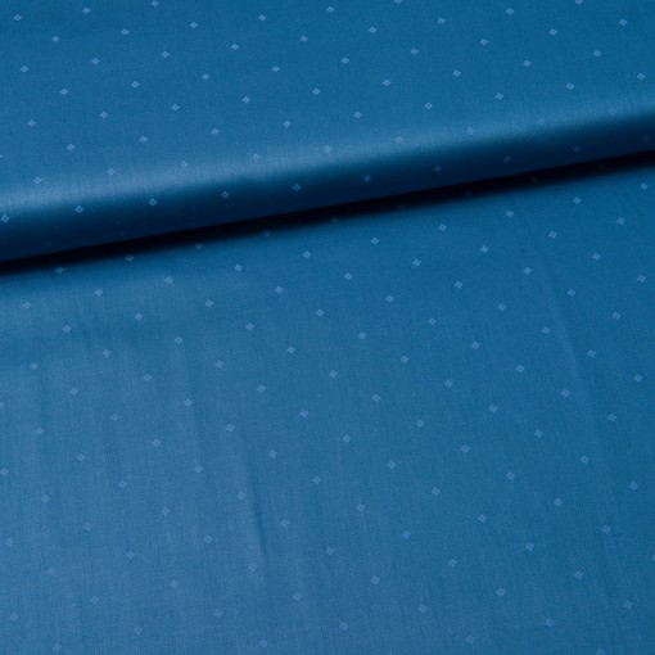 "Trachtenstoff ""Romantico"" mini Blüten jeansblau"