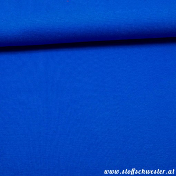 Feinstrickbündchen royalblau