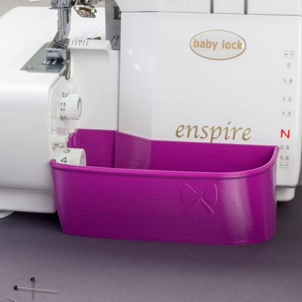 Auffangbehälter für Babylock Enspire & Eclipse purpur