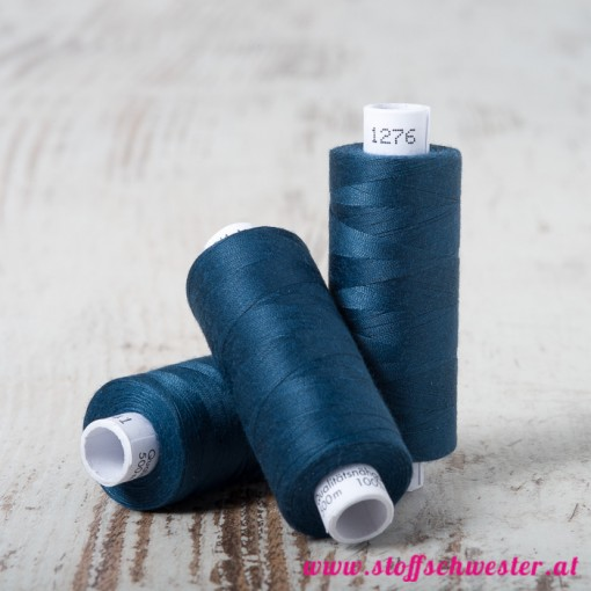 Stoffschwester Amann Troja No. 100 500m jeansblau