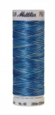 Amann Mettler Poly Sheen Multi, 200m Spule in Faded Denim  Die Multifarben harmonieren perfekt mit dem unifarbenen Poly Sheen