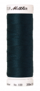 Amann Mettler Seralon 100, 200m - Dark Greenish Blue - Allesnäher