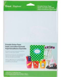 Cricut Printable Sticker Paper (bedruckbares Stickerpapier)