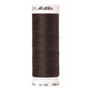Amann Mettler Seralon 100, 200m - Earthy Brown Coal - Allesnäher