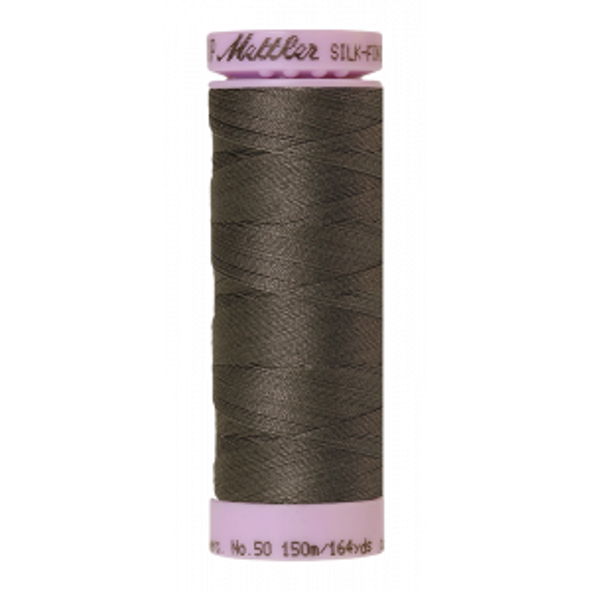 Silk-Finish Cotton 50, 150m - Whale: Reines Baumwollgarn aus 100% langstapliger, ägyptischer Baumwollte von Amann Mettler