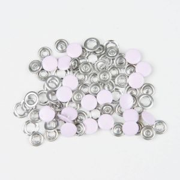 BabySnap Metall Druckknöpfe rosa