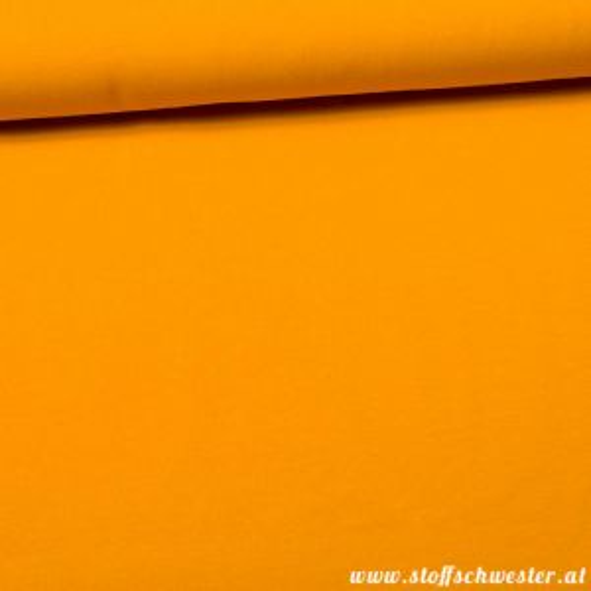 Stoffschwesters Sommersweat gelb